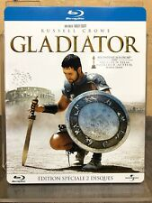 Gladiator (Blu-ray) Steelbook 2 Disc Extended Version (French) + Free Shipping