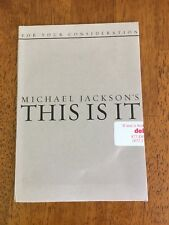 """Michael Jackson's """"This Is It"""" Promo DVD FYC Rare Sealed"""