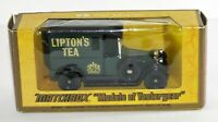 Matchbox models Of Yesteryear Y-5 1927 Talbot Van Liptons Tea Vintage Diecast