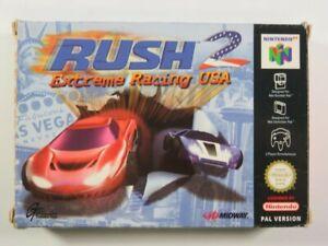 RUSH 2 EXTREME RACING USA NINTENDO 64 (N64) PAL-EUR (COMPLETE - GOOD CONDITION)