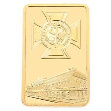 Gold Brick Bitcoin Commemorative Collectors Gift  Coin Bit Coin Art Collectio EW