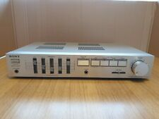 Sony TA-AX35Stereo Integrated Amplifier (1983-84) Good working order.