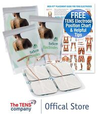 Med-Fit Self Adhesive Tens Pads Electrodes 5x5cm Various Quantities-From £1.40