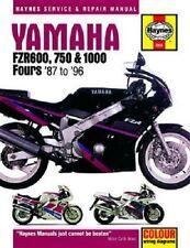 HAYNES SERVICE REPAIR MANUAL YAMAHA FZR1000 989CC 87-88 & FZR1000 1002CC 1989-95