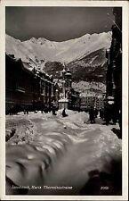 Innsbruck Österreich Tirol 1940 Maria Theresienstraße Straße Winter Schnee Alpen