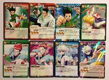 Hunter X Hunter Miracle Battle Carddass Rare Set HH01 8/8