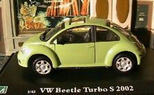 VW VOLKSWAGEN BEETLE TURBO S 2002 OLIEX 1/43 SPORT RACE GREEN VERT GRUN VERDE