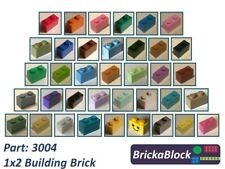 NEW & GENUINE Lego Part 3004 1x2 Brick (Choose 1,2,4,6,8,10 or 50)