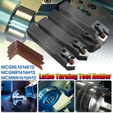 4Set Of CNC Lathe Index Turning Tool Holder Boring Bar With Wrenches FOR CNMG12