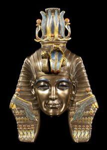 Ägyptische Wand-Maske - Pharao Tutanchamun - König Tut Veronese Figur Statue