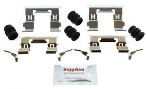 for NISSAN JUKE 2010- FRONT Brake Pad Fitting Kit (H1853)