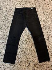 Sugar Cane Black Selvedge Jeans 32x34 Lot 470