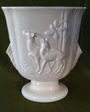Beswick Vase with Deer Decoration. Produced between 1943 and 1963
