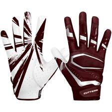 maroon football gloves xl | eBay