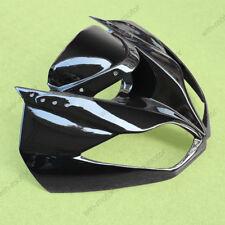black upper fairing cowl nose for kawasaki ninja zx-6r zx636 2009-2012 09 11 12