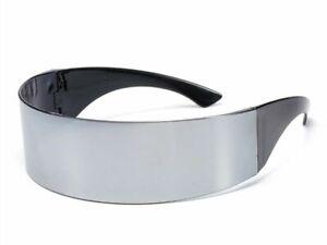 Futuristic Wrap Around Sunglasses Funny Costume Novelty Glasses Halloween Party