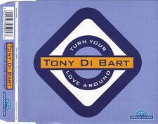TONY Di BART  Turn Your Love Around 5x  UK CD Single 1995 Love To Infinity