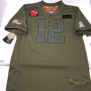 Nike Tom Brady Salute To Service Camo Army Jersey Youth XL X-Large