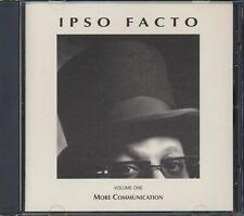 CD Ipso Facto - More Communication Volume 1