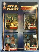 Star Wars ATOC VALUE 4-PACK Han Solo- C-3PO - Mace Windu - Chewbacca