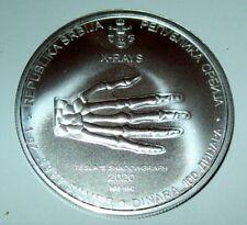 2020 Serbia 1 oz Silver 100 Dinar Nikola Tesla: X-Ray BU Coin