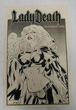 New Lady Death: The Mourning #1 Ashcan Premium Edition Chaos Comics