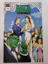 THE INCREDIBLE HULK ASHCAN EDITION 1992 MARVEL COMICS RICK+MARLO WEDDING PREVIEW