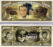 Adam West - Batman 1960s In Memory of Million Dollar Novelty Money