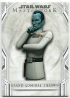 2018 Star Wars Masterwork 42 Grand Admiral Thrawn