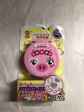 Maya Toys CUTIE STIX Compact PIGGY PIG Jewelry kid's craft Kit PINK FREESHIP NEW