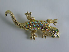 SALAMANDER PIN BROOCHE Jewelry metal