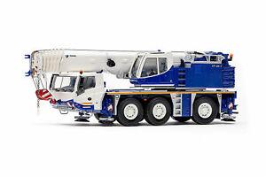 WSI 54-2005 TADANO FAUN AFT 60 G-3 3-axle Mobile Crane - Tadano Livery 1:50