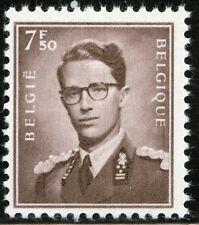 Belgium 1957 7.50fr King Baudouin Scott 463 Mnh (*) Cv$87.50 0A