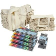 Wholesale Craft 30 Drawstring 30 Shopping Bag 100% Cotton 92 Textile Markers