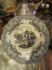 ancienne assiette grigny arboras f e d marechal canrobert militaire 19 eme