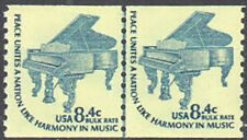 SC#1615C - 8.4c Symphony Grand Piano Joint Line Pair MNH Shiny Gum