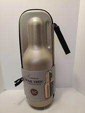 Rabbit Wine Trek Portable Bottle Cooler - Champagne & Black - NWT