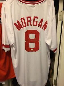 Joe Morgan Signed Jersey