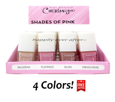 Cherimoya Nail Polish - Shades of Pink Nail, 4 PCs Pink Nail Polishes! BRAND NEW