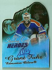 GRANT FUHR 2003/04 TOPPS STANLEY CUP HEROES SIGNATURE AUTOGRAPH AUTO