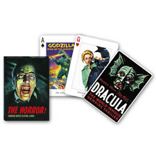 Piatnik Horror Movies Playing Cards, Posters, Films, Collectors, Gifts 1691