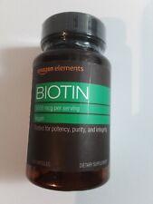 Amazon Elements  5,000 mg Biotin - 130 Capsules Exp 01/22