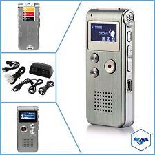 Voice Activated Mini Spy 8GB Digital Sound Audio Recorder Dictaphone MP3 Player