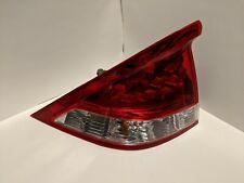 2010-2012 Honda Insight Driver Left Side Tail Light Taillight Lamp OEM