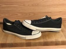 Converse X John Varvatos Black Beluga Turtledove Vintage Slip On SIZE 10