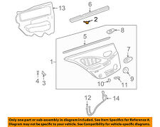 GM OEM REAR DOOR-Trim Panel Assembly Retainer 25707329