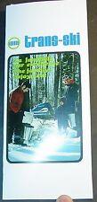 Vintage 1971 Trans-Ski Snowmobile Sales Brochure English & French Copy (483)