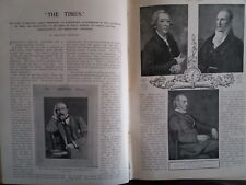Times Newspaper History Thomas Hardy Melancholy Hussar Rare Old 1903 Articles