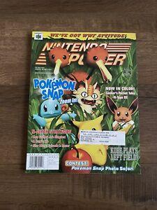 Nintendo Power Magazine June 1999 volume 121 Pokemon Snap - with poster