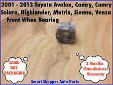 Front Wheel Bearing 2001-2013 Toyota Avalon Camry Highlander Matrix Sienna Venz